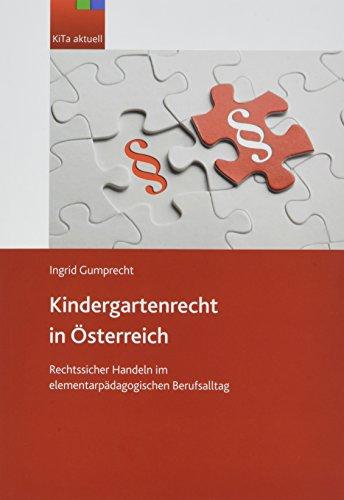 Gumprecht, I: Kindergartenrecht in Österreich