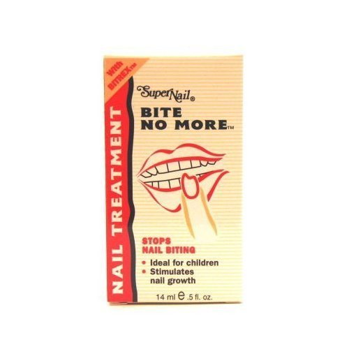 Super Nail Bite No More 1/2 oz. by Super Nail [Beauty] (English Manual)