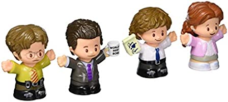 Fisher-Price Little People Collector The Office Figure Set, 4 character figures from the American TV show in a giftable...