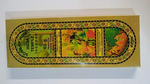 IN9 1 X Song of India India Temple Incense 120 Stick Pack,