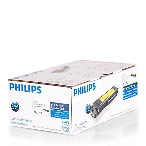 Original Philips PFA751 / 253156799 Toner (schwarz, ca. 2.000 Seiten) für Laserfax 5120, 5125, 5135
