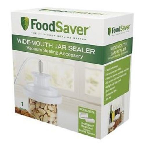 :FoodSaver Wide-Mouth Jar Sealer T03-0023-01, New For Wide Mouth Pint Quart & Gal:New by WW shop