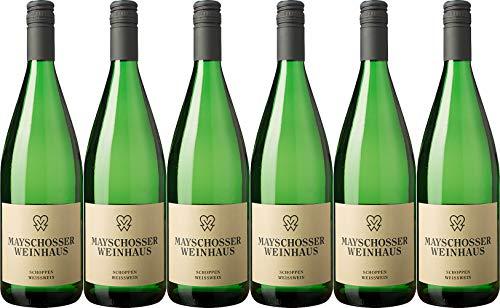 Mayschoß-Altenahr Schoppen-Weisswein 1L Mild (6 x 1.0 l)