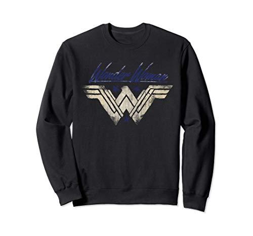 US DCEU Wonder Woman +Logo Watermark 01 Sudadera