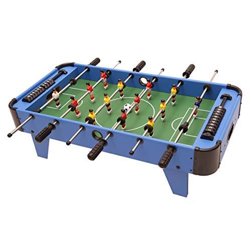 Houten Tafelvoetbalspel - 32 Inch Wedstrijdtafelvoetbalspel, Perfecte Familiespellen Voor Volwassenen En Kinderen