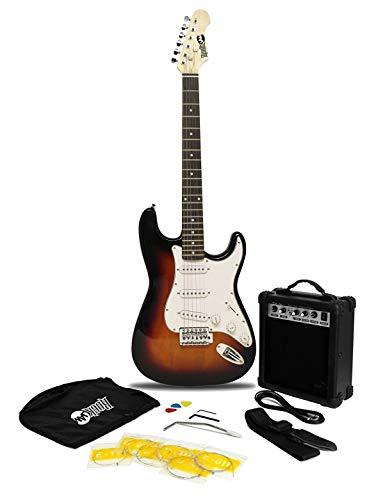 RockJam Superkit de guitarra eléctrica de tamaño completo