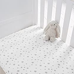Produced in Oeko-Tex certified factories this range has the ultimate seal of approval for safety standards 100% cotton jersey 70 x 140 x 12 cm Machine washable at 40 degrees and can be tumble dried on a low heat Beautifully soft jersey cotton in a ch...