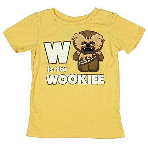 Star Wars W es para Wookiee Little Boys T-Camisa (5/6)