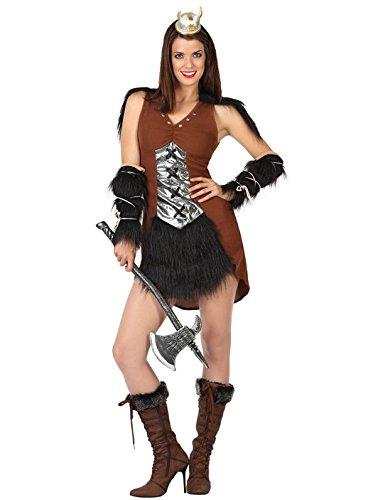 Atosa - Disfraz de vikinga para adulto (111-26874): Amazon.es ...