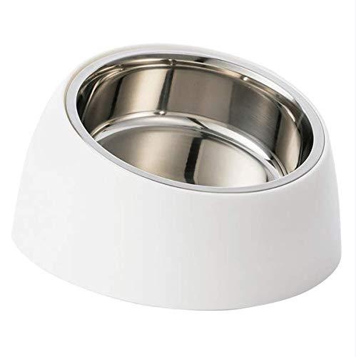 MeiDao Tiernahrungsschüssel Edelstahl Dual-Use-Reisschüssel Für Katzen Und Hunde Reisschale Wasserschale Doppelschale Hundefutterschale Katzenfutterschale