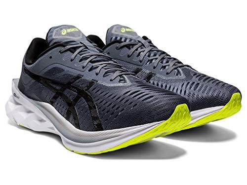ASICS Men's NOVABLAST Running Shoes, 11M, Metropolis/Black