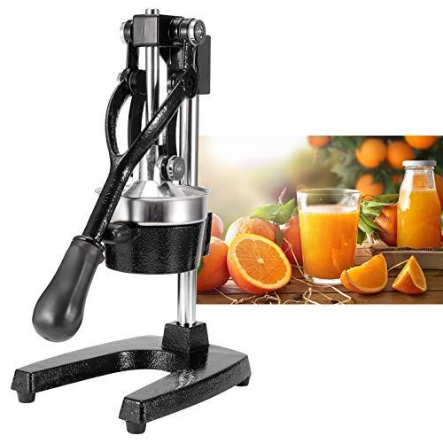 Exprimidor de Mano, exprimidor de cítricos y limón, máquina de prensado de Naranja de Acero Inoxidable, exprimidor de Prensa Manual para Cocina doméstica o Comercial