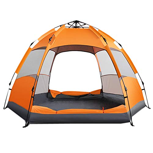 Zhang Yuejiang Automatic tent multi-person double hex tent outdoor camping tent