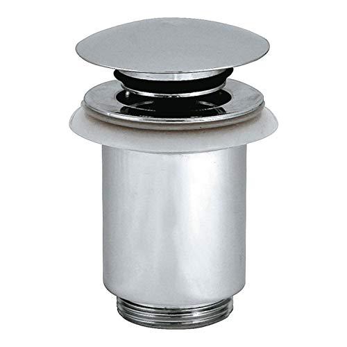 Jimten S-451 Válvula desagüe lavabo Click-Clack (1 1/4 x 63), Cromo