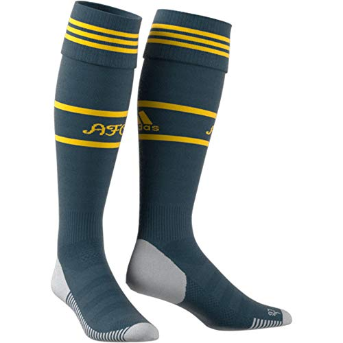 adidas Calcetines unisex Performance Arsenal, Unisex adulto, Calcetines, EH5683, verde y amarillo, Size 40 - 42