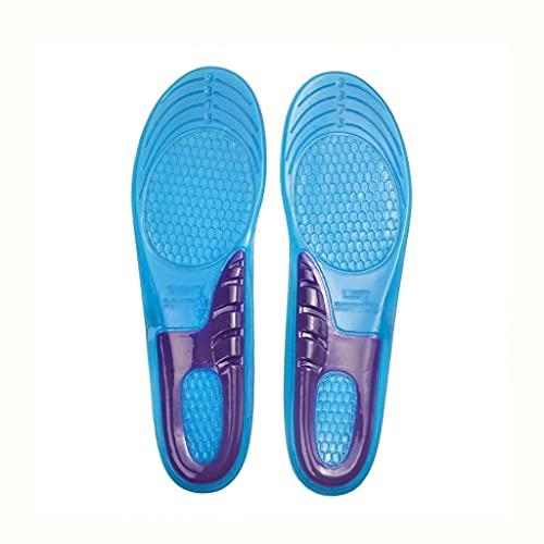 GELTDN Gel de sílice Orthotic Elástica Plantillas Arch Support Zapatillas Sport Sport Running Plantillas de gel Insertar Cojín para hombres Tamaño de las mujeres 33-48 (Size : M/38-43)