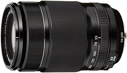 Fujifilm Fujinon XF 55 - 200 mm f/3.5 - 4.8 LM OIS - Objetivo para Fujifilm con montura X (distancia focal 55 - 200 mm, apertura f/3.5 - 4.8, zoom óptico 3.6x,estabilizador), color negro [importado]