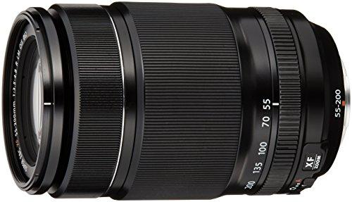 Fujifilm Fujinon XF 55-200 mm f/3.5-4.8 LM OIS - Objetivo para Fujifilm con Montura X (Distancia Focal 55-200 mm, Apertura f/3.5-4.8, Zoom óptico 3.6X,estabilizador), Color Negro [Importado]