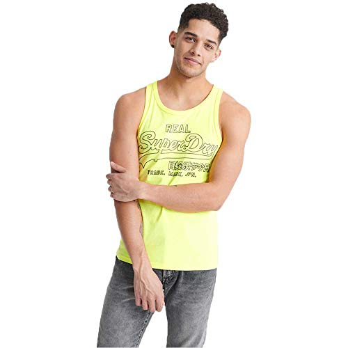 Superdry Vl Outline Pop Vest Top voor heren