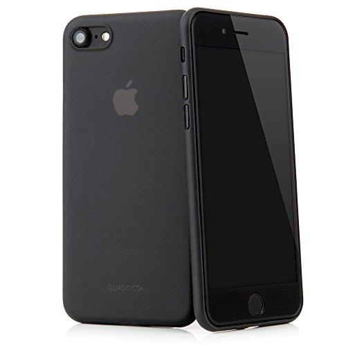 QUADOCTA Angusta Ultra Thin Case iPhone 7 nero Nero  iPhone 8 / iPhone 7 (4,7')