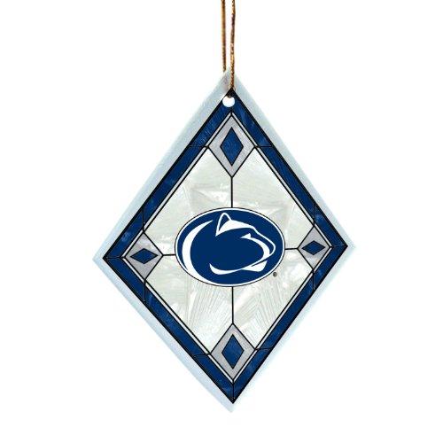 NCAA Penn State Nittany Lions Art Glass Ornament