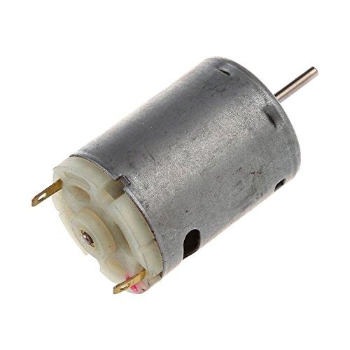 TOOGOO 12V DC 6000RPM Torque Magnetic Mini Motor electrique pour bricolage Jouets Voitures