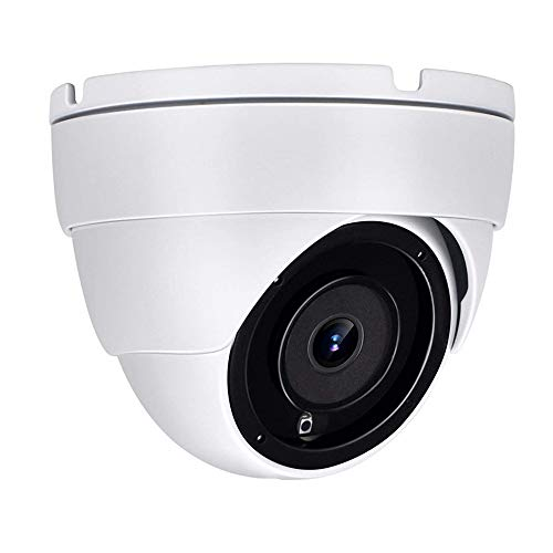 [Auido] Anpviz IP POE 3.5in Dome Outdoor 5MP Camera(Hikvision Compatible), HD Onvif Security Camera with Microphone, Indoor Outdoor Wide Angle 2.8 mm Lens IP66 Weatherproof Night Vision White Camera
