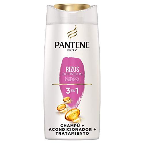Pantene Pro-V Rizos Definidos 3 en 1 Champú, Acondicionador y Tratamiento - 675 ml
