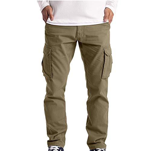 JIEXINXIN Pantalones Deportivos para Hombre, Pantalones Casuales Leggings Pantalones EláSticos Los Monos Son Ligeros Y Transpirables
