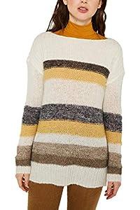 ESPRIT Damen 129Ee1I010 Pullover, Gelb (Dusty Yellow 2 766), Medium (Herstellergröße: M)