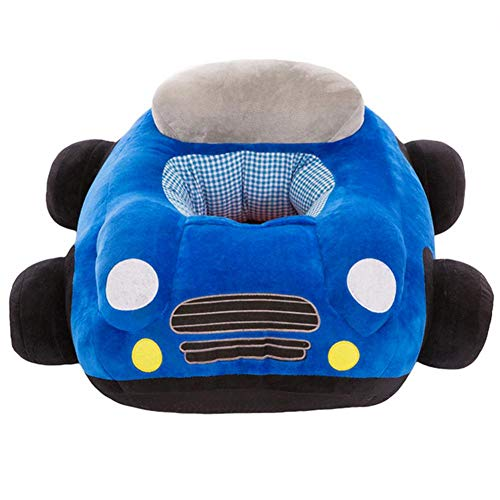 .b 2021 - Babysitz Sofa Spielzeug Autositz Stützsitz Baby Plüsch ohne Füllstoff (blau)