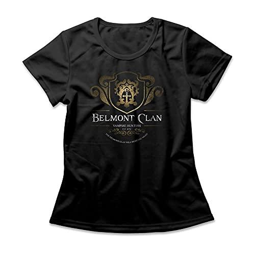 Camiseta Feminina Castlevania Belmont Clan