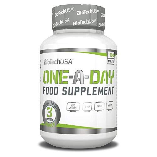Biotech USA One a Day 100 Tabletten - kompletter Multivitamin-Komplex