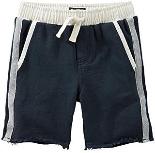 OshKosh B ' gosh Little Boys ' French Terry Shorts、ネイビー、幼児用