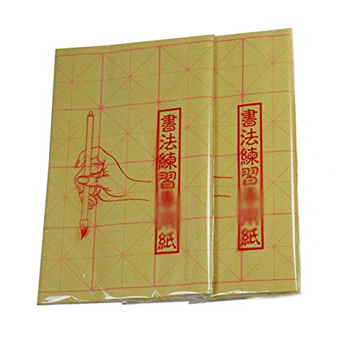 50pcs Chinese Calligraphy Brush Ink Writing Sumi Paper//Xuan Paper//Rice Paper Set
