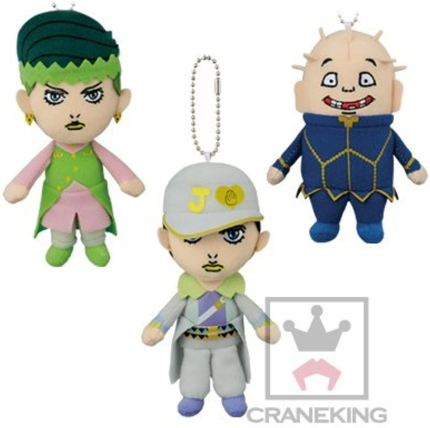 JoJo's Bizarre Adventure Diamond is attached to the Jojo overstuffed bag that does not crumble huge stuffed vol.2 all three