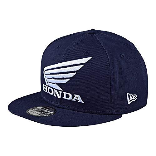 Casquette Snapback Troy Lee Designs Honda New Era Wings Bleu Fonce (Default , Bleu Fonce)