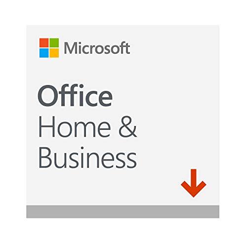 Microsoft Office Home & Business 2019 | si installa su 1 PC (Windows 10) o Mac |1 licenza commerciale perpetua | Codice di attivazione via email