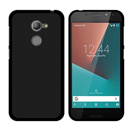 TBOC® Schwarz Gel TPU Hülle für Vodafone Smart N8 (5.0 Zoll) Superdünn Flexibel Silikonhülle