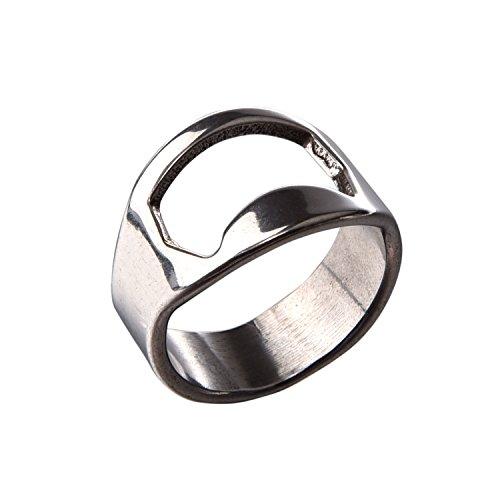 SODIAL(TM) Apribottiglie anello