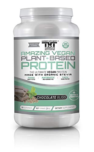 Amazing Vegan Plant-Based Protein Powder Supplement review