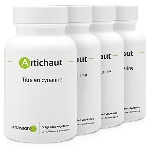 ALCACHOFA * 400 mg / 240 cápsulas Un excelente aliado para el hígado Nuestro extracto de alcachofa contiene un 5% de cinarina. Un índice que garantiza la mayor eficacia. 2 cápsulas al día con medio vaso de agua, durante las comidas. Extracto Titulado...