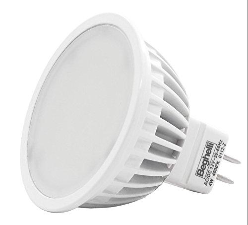 BEGHELLI LED 56033 MR16-12V-W4,0 CALDA NEXTRADEITALIA Confezione da 10PZ