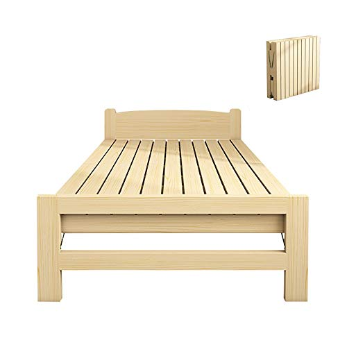 Folding Away Guest Beds Wooden Folding Bed With A Mattress Bed Children's Multi-functional Portable Guest Beds Aspect Easy To Fold For A Nap Or Home Office Home Bedroom Living Room Office Indoor
