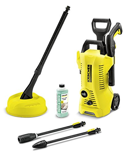 Kärcher K2 Premium Full Control Pressure Washer, 240 V, Yellow