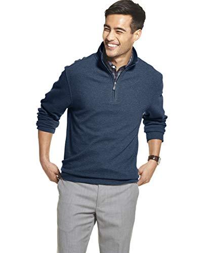 Men Pullover Sweaters Quarter Zip