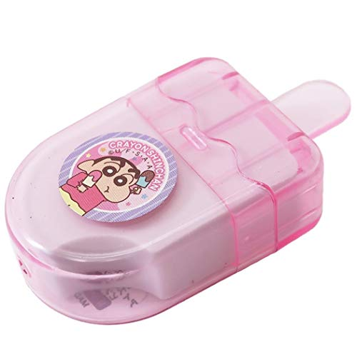 クレヨンしんちゃん[消しゴム]アイスキャンディ型けしごむ 2020年 新入学新学期準備【ピンク 】