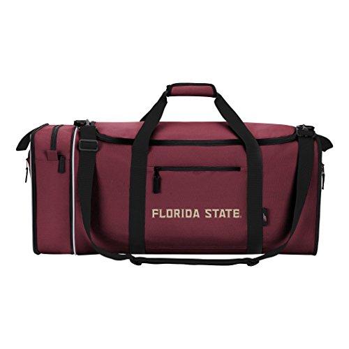 "NCAA Florida State Seminoles NCAA Steal Duffel, Red, Measures 28"" in Length, 11"" in Width & 12"" in Height"