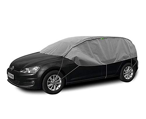 Kegel Blazusiak Halbgarage Winter M-L kompatibel mit Volkswagen Polo (IV,V) ab 2002 UV Schutz Auto Abdeckung