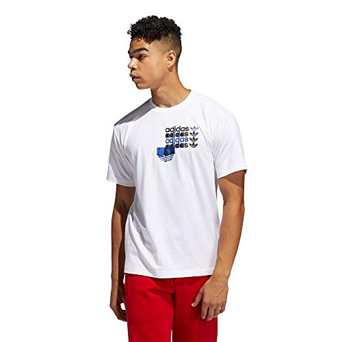 adidas FRM SS Graphic tee (Short Sleeve), White, XS Men